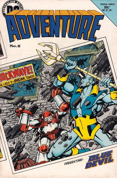 Adventure (Federal, 1983 series) #8 ([February 1985?])