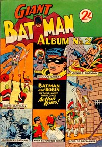 Giant Batman Album (Colour Comics, 1962 series) #2 ([December 1962?])