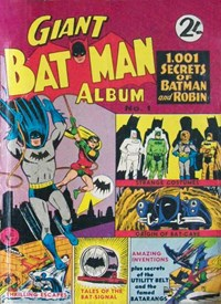 Giant Batman Album (Colour Comics, 1962 series) #1 — 1,001 Secrets of Batman and Robin