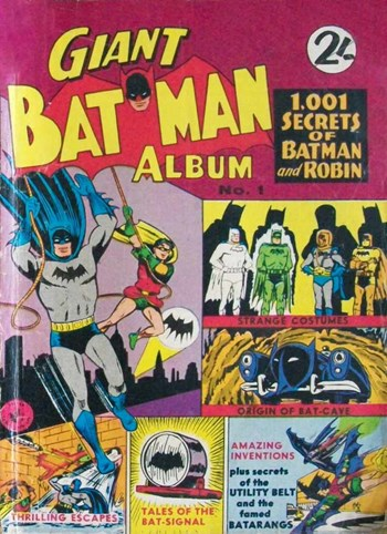1,001 Secrets of Batman and Robin