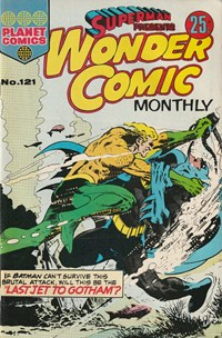 Superman Presents Wonder Comic Monthly (KG Murray, 1973 series) #121 — No title recorded
