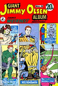 Giant Jimmy Olsen Album (Colour Comics, 1966 series) #3 ([September 1968?])
