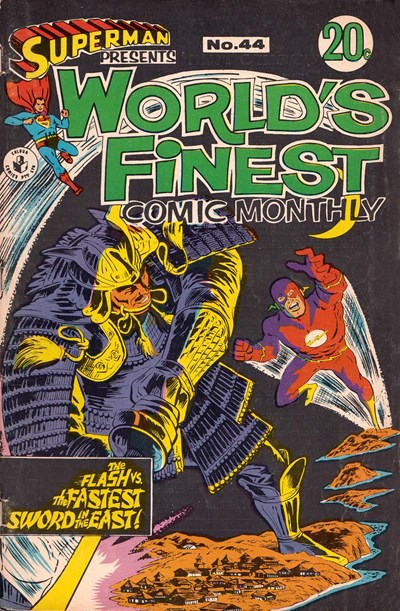Superman Presents World's Finest Comic Monthly (Colour Comics, 1965 series) #44 (December 1968)