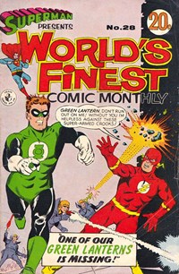 Superman Presents World's Finest Comic Monthly (Colour Comics, 1965 series) #28 ([August 1967?])