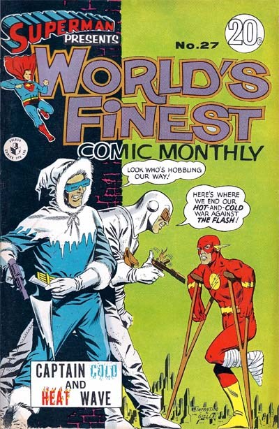 Superman Presents World's Finest Comic Monthly (Colour Comics, 1965 series) #27 ([July 1967?])