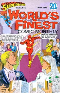 Superman Presents World's Finest Comic Monthly (Colour Comics, 1965 series) #26 ([June 1967?])