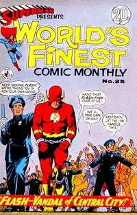 Superman Presents World's Finest Comic Monthly (Colour Comics, 1965 series) #25 ([May 1967?])