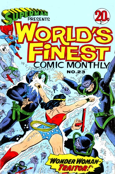 Superman Presents World's Finest Comic Monthly (Colour Comics, 1965 series) #23 ([March 1967?])