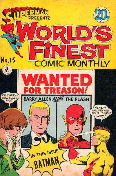 Superman Presents World's Finest Comic Monthly (Colour Comics, 1965 series) #15 (July 1966)