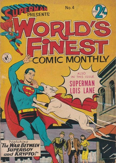 Superman Presents World's Finest Comic Monthly (Colour Comics, 1965 series) #4 ([August 1965?])