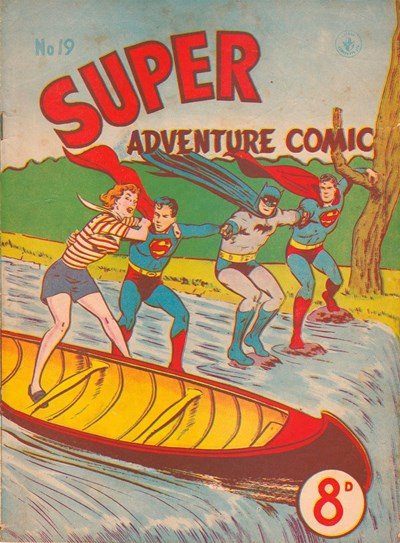 Super Adventure Comic (Colour Comics, 1950 series) #19 ([January 1952])