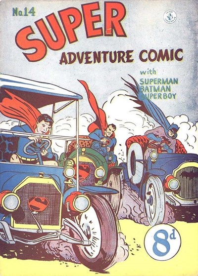 Super Adventure Comic (Colour Comics, 1950 series) #14 ([August 1951])
