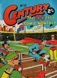 Century the 100 Page Comic Monthly (Colour Comics, 1956 series) #6 ([November 1956?])