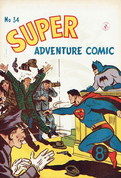 Super Adventure Comic (Colour Comics, 1950 series) #34 ([April 1953])