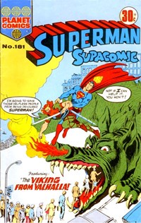Superman Supacomic (KG Murray, 1974 series) #181