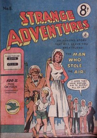 Strange Adventures (Colour Comics, 1954 series) #8 — No title recorded