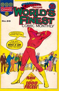 Superman Presents World's Finest Comic Monthly (Colour Comics, 1965 series) #99 — The Flash of 1,000 Faces!