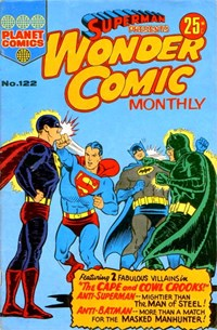 Superman Presents Wonder Comic Monthly (KG Murray, 1973 series) #122 — No title recorded