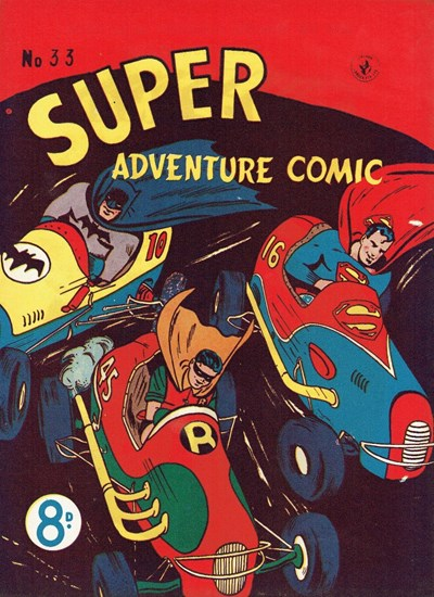 Super Adventure Comic (Colour Comics, 1950 series) #33 ([March 1953?])