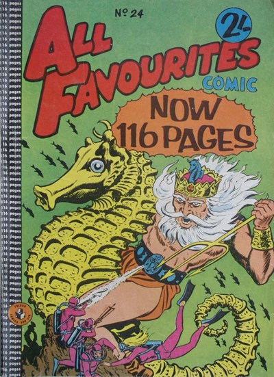 All Favourites Comic (Colour Comics, 1960 series) #24 ([April 1961?])