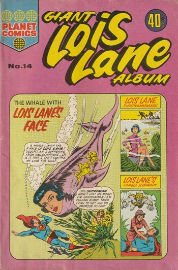 The Whale with Lois Lane's Face
