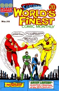 Superman Presents World's Finest Comic Monthly (KG Murray, 1974 series) #111 — Green Lantern-Master Criminal of the 25th Century!