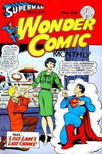 Superman Presents Wonder Comic Monthly (Colour Comics, 1965 series) #25 — No title recorded