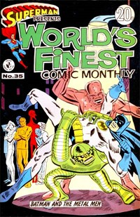 Superman Presents World's Finest Comic Monthly (Colour Comics, 1965 series) #35 ([March 1968?])