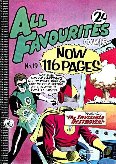 All Favourites Comic (Colour Comics, 1960 series) #19 ([July 1960?])