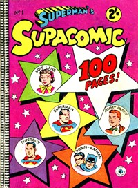 Superman's Supacomic (Colour Comics, 1958 series) #1 — Untitled