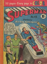 Superman (Colour Comics, 1950 series) #113