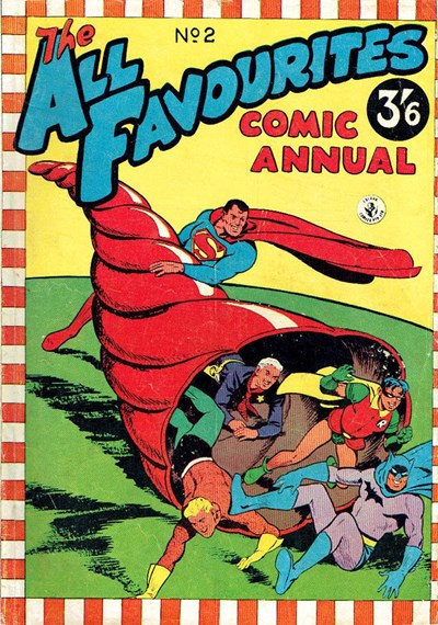 The All Favourites Comic Annual (Colour Comics, 1958 series) #2 ([1956?])