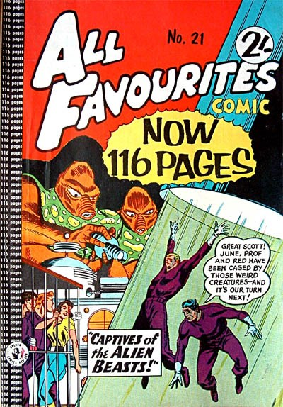 All Favourites Comic (Colour Comics, 1960 series) #21 ([October 1960?])