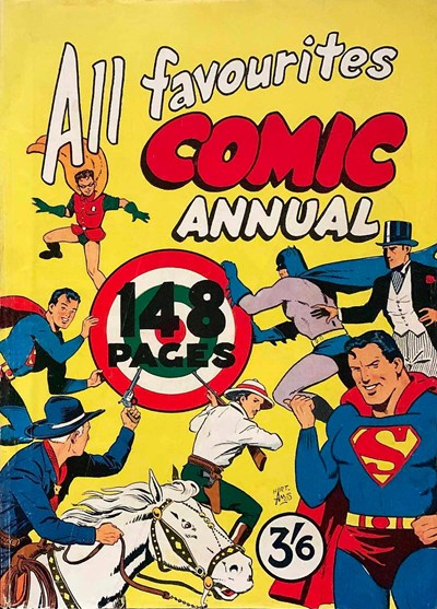All Favourites Comic Annual (Colour Comics, 1957 series) #nn [1] ([1955??])