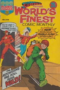 Superman Presents World's Finest Comic Monthly (KG Murray, 1974 series) #118 — The Astonishing Rag Doll Runs Wild!