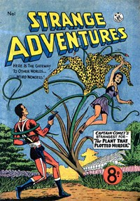 Strange Adventures (Colour Comics, 1954 series) #1 — No title recorded (Cover)