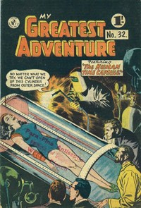 My Greatest Adventure (Colour Comics, 1955 series) #32 ([November 1957])