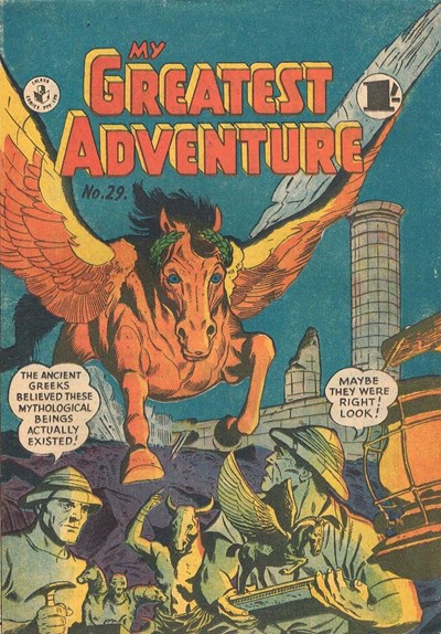 My Greatest Adventure (Colour Comics, 1955 series) #29 ([August 1957?])