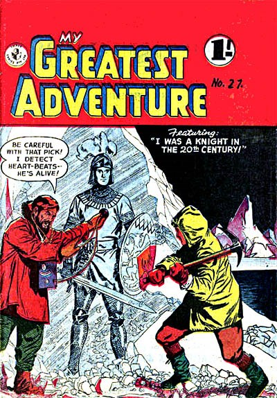 My Greatest Adventure (Colour Comics, 1955 series) #27 ([June 1957?])