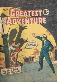 My Greatest Adventure (Colour Comics, 1955 series) #23 ([February 1957])