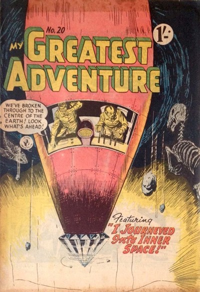 My Greatest Adventure (Colour Comics, 1955 series) #20 ([November 1956])