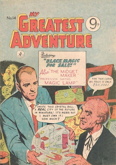 My Greatest Adventure (Colour Comics, 1955 series) #14 ([May 1956])