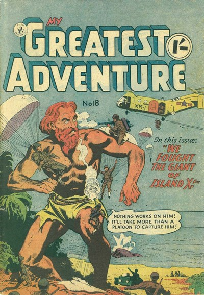 My Greatest Adventure (Colour Comics, 1955 series) #18 ([September 1956])