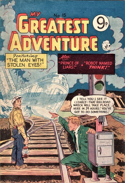 My Greatest Adventure (Colour Comics, 1955 series) #15 ([June 1956])