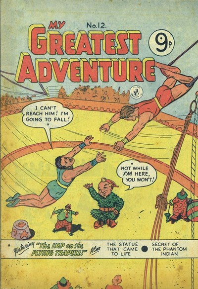 My Greatest Adventure (Colour Comics, 1955 series) #12 ([March 1956])