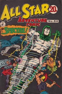 All Star Adventure Comic (Colour Comics, 1960 series) #54 — Untitled