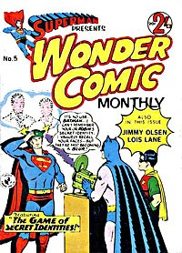Superman Presents Wonder Comic Monthly (Colour Comics, 1965 series) #5 — The Game of Secret Identities