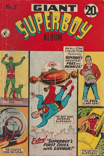 Superboy's Greatest Foes and Menaces!