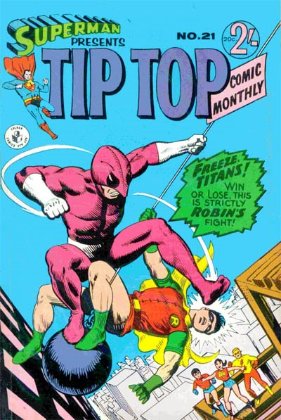 Superman Presents Tip Top Comic Monthly (Colour Comics, 1965 series) #21 ([January 1967])