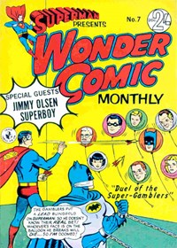 Superman Presents Wonder Comic Monthly (Colour Comics, 1965 series) #7 — No title recorded